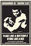 Float Like a Butterfly Sting Like a Bee Movie Poster (27,94