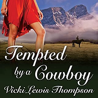 Tempted by a Cowboy audiobook cover art