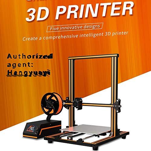 E16 Haute précision Bricolage 3D imprimante Auto-Assemblage 300 * 300 * 400mm Grande Taille d'impression Cadre en Alliage d'aluminium LCD Affichage Alimentation de Filament Automatique (EU)