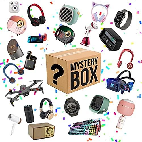 nakw88 Caja misteriosa MYS boxey caja electrónica,cajas de suerte,súper costefectiva,estilo aleatorio,latidos del corazón,excelente relación calidad-precio,primero llega por primera vez,date una sorpr