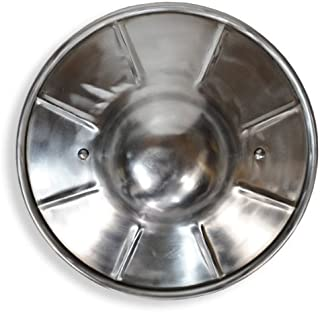 GDFB AB0123 Fluted Steel Buckler, 12