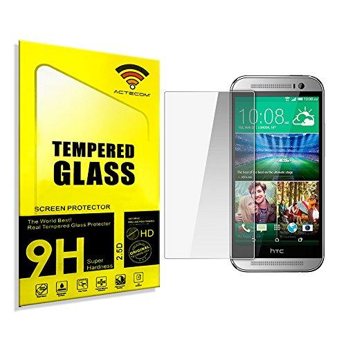 cogac ACTECOM® Cristal Templado Protector para HTC One M8 0.2mm