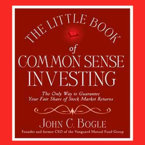 The Little Book of Common Sense Investing audiobook cover art