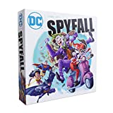 DC Spyfall - The Perfect Party Game - Find The Joker Before Time Runs Out - For 3 to 8 Players - Board Games for Teens and Adults - Featuring Batman, Superman, Wonder Woman, and More - Ages 13+