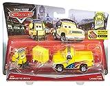 Mattel Disney DHL15 Metal vehículo de juguete - Vehículos de juguete (Multicolor, Vehicle set, Metal, Cars, Jeff Gorvette's Pitty & John Lassetire, 3 año(s))