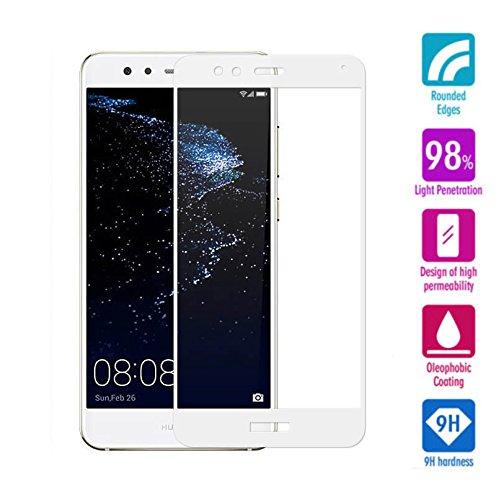 MUNDDY Protector de Pantalla Completa para Huawei P10 Lite de Dureza de...