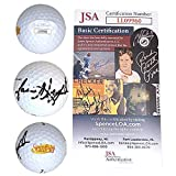Jason Alexander Autographed Signed Seinfeld Logo Pinnacle Golf Ball with Exact Proof Photo JSA Cert