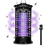 Lámpara Antimosquitos Portátil, Antimosquitos Electrico Asesino de Insectos UV, Repelente de Mosquitos Trampa de Insectos Mosquito Killer Trampa de Mosquitos para Acampar al Aire Libre de 30 m²