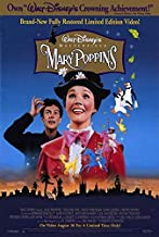 65552 Mary Poppins Movie Julie Andrews, Dick Van Dyke Decor Wall 36x24 Poster Print
