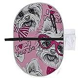 Ein Hund York In Brille Baby Windel Matte gefaltet Wickelauflage 27 x 10 Zoll wasserdicht faltbare Matte Baby tragbare Wickelstation Travel Change Pad