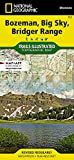 Bozeman, Big Sky, Bridger Range (National Geographic Trails Illustrated Map, 723)