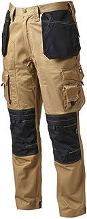 Apache Men's Holster Polycotton Holster Trouser, Stone34W x 29L