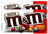 NEW M&M's White Chocolate Candies Share Size - 2.47-oz (2)