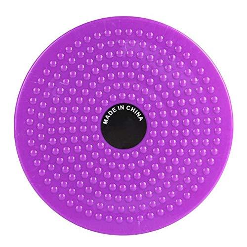 JinEamy Wackelbrett, for Stärke Stabilitätstraining Gebraucht Gleichgewicht Disc, Anti-Blockier-System, Home Fitness, Körperliche Rehabilitation (Color : Purple)