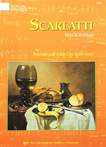 GP391 - Scarlatti - Ten Sonatas