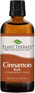 Plant Therapy Cinnamon Bark Essential Oil 100 mL (3.3 oz) 100% Pure, Undiluted, Therapeutic Grade