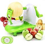 Rayami Pelador de Frutas multifunción de Manzana y Patatas, máquina peladora Manual rápida, Accesorios de Cocina