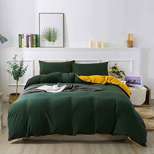 Edredón Verde  marca H HOUSEHOLD