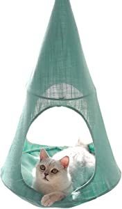 Cat Hammock  Window Sill Hanging Cat Bed Pet Cat Nest  Pet Hammock Hanging Seat  Save Space  Suitable for Household Detachable and Washable B