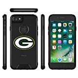 Packers Clear Case Compatible with iPhone 6/6s/7/8 4.7' Military Grade Drop Tested Protective Cover Premium Hybrid Full-Body Rugged Bumper Transparent Back Shell for Regular 8 7 6 6S 4.7-inch