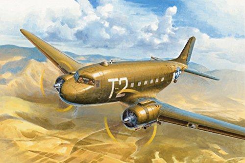 ホビーボス 1/72 C-47A スカイトレイン プラモデル