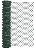 GAH-Alberts 604790 Maschendraht-Geflecht | verschiedene Längen und Höhen - wahlweise in verschiedenen Farben | grün | Höhe 200 cm | Länge 25 m