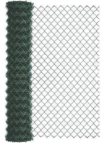 GAH-Alberts, grün 604790 Maschendraht-Geflecht wahlweise in verschiedenen Farben | kunststoffbeschichtet, Höhe 200 cm | Länge 25 m