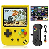 New Retro Handheld HD Game Consoles for N E S Built in 500 in 1 Classic Best Video Gaming Consoles Built-in 1020mAh Rechargeable Battery, Support L,R Button and Connecting TV and Two Players