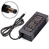 TANGSPOWER Chargeur de Batterie 36V 2A Sortie 42V 2A Chargeur Entrée 100-240 VCA Lithium Li-ION Chargeur Li-Poly pour 10Series 36V Vélo Électrique DC 5.5MM * 2.1MM Prise UE