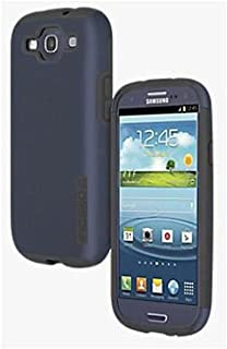 Incipio Samsung Galaxy S3 Double Cover Hard Shell Case with Silicone Core, Navy / Gray - Comes with Viewing Stand (Fits T-Mobile / Verizon / AT&T Galaxy S3)