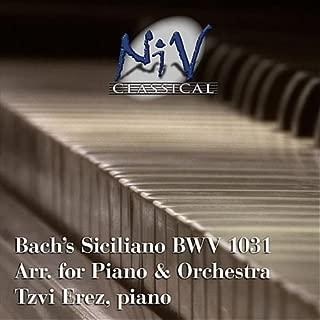 Siciliano from Flute Sonata, No. 2 in E Flat Major, BWV 1031