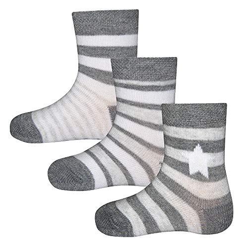 Ewers 3er Pack Babysocken Kindersocken Jungen, MADE IN EUROPE, Socken Baumwollsocken Baumwolle