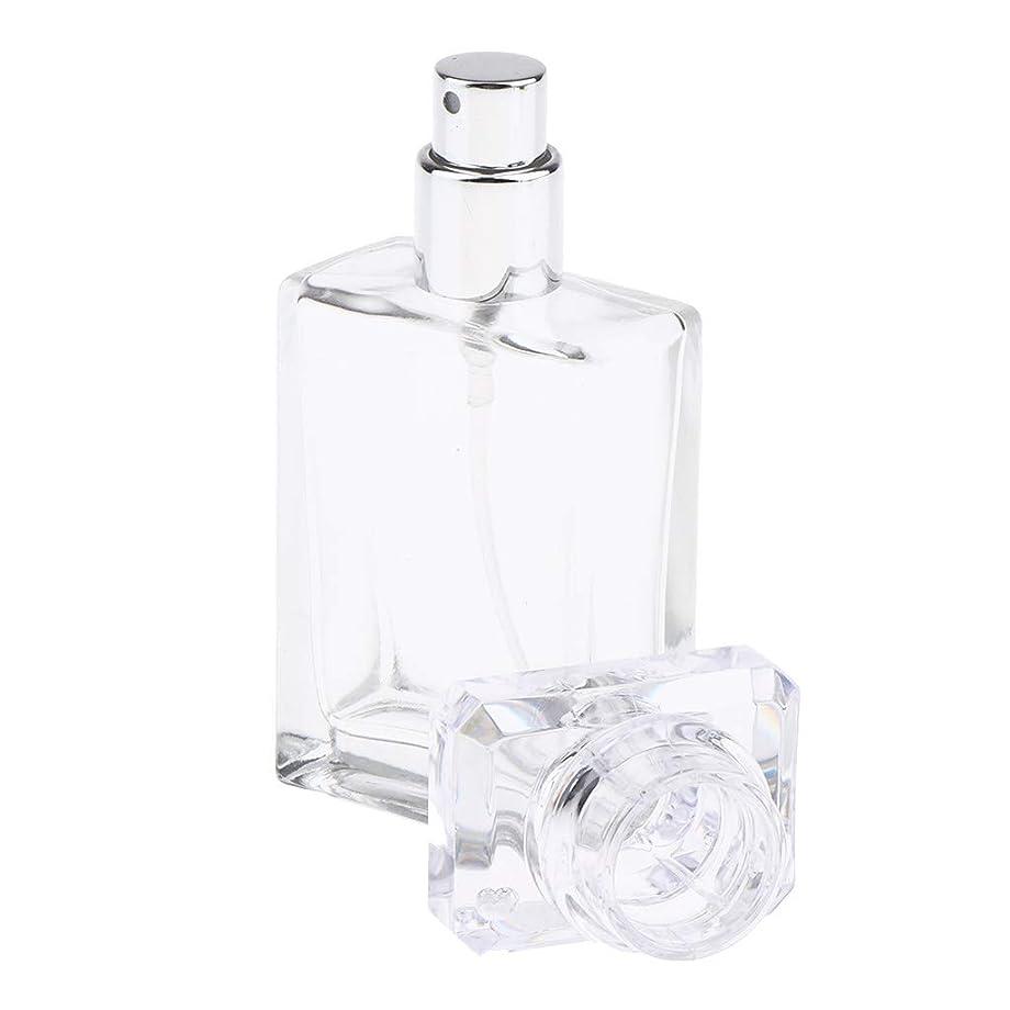 デジタルつぼみキャプチャーPerfeclan アロマボトル 香水瓶 アトマイザー スプレーボトル 香水 ガラスポンプボトル 2色選ぶ 空の化粧品ボトル - クリア