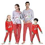 Hupohoi Family Matching Pajama Sets Cute Polar Bear Sleepwear Christmas Clothes Nighty, Christmas...