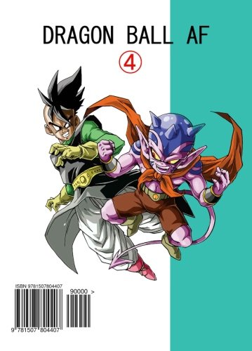 Dragon Ball AF Volume 4