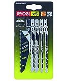 Ryobi 5132002697 5-teiliges Stichsägeblattset