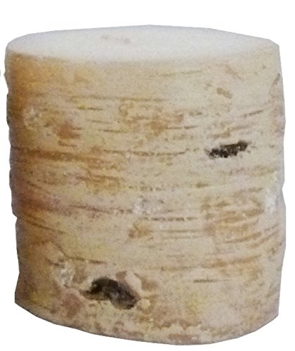 Biedermann & Sons All Wax Birch Style Candle, 3 by 3-Inch, Box of 6
