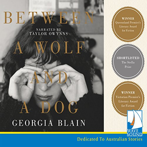 Between a Wolf and a Dog audiobook cover art