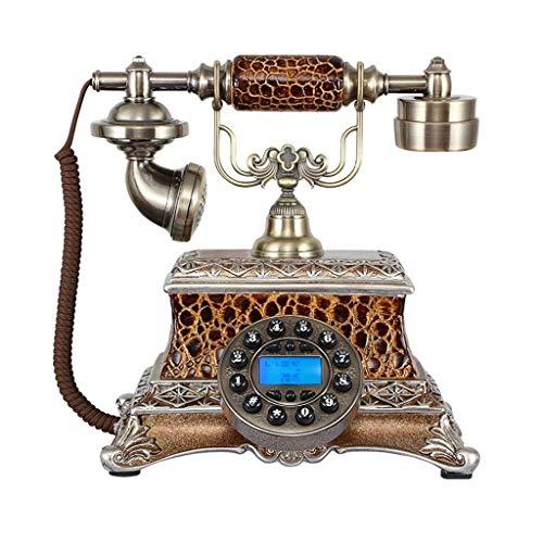Das angerufene Telefon, Antiquitäten/Home Office/Setup/Top Fashion Europäischer Aristokrat ique 25x22x25cm Handy
