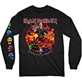 Rock Off Longsleeve Iron Maiden Nights of The Dead Oficial Camiseta para Hombre (Small)