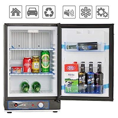 Smad RV Fridge Single Door 110V/12V/Lpg Refrigerator