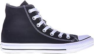 Converse Unisex Chuck Taylor All Star HI Top Basketball Shoe (42 M EU / 10.5 B(M) US Women / 8.5 D(M) US Men, Black/White)