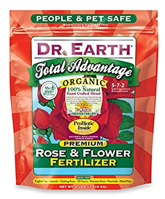 Dr. Earth Organic Rose & Flower Fertilizer
