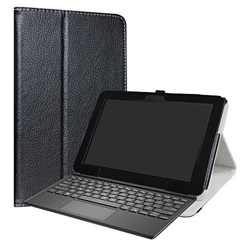 """Asus T103HAF Custodia,LiuShan slim Sottile Pieghevole con supporto in Piedi caso per 10.1"""" Asus Transformer Mini T103HAF Android Tablet,Nero"""