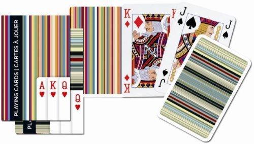 Piatnik Bridge Stripes Playing Cards Single Deck by Piatnik