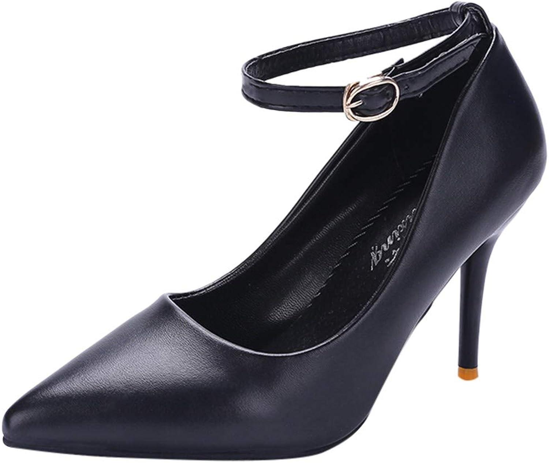 Xinantime Women High Heel Sandals Buckle Ankle Strap Evening Dress Dance shoes Wedding shoes