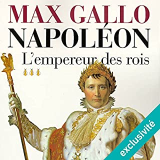 L'empereur des rois audiobook cover art