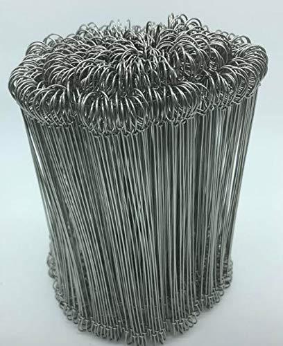 Miko® Bindedrähte Edelstahl, 18 cm / 100er Pack