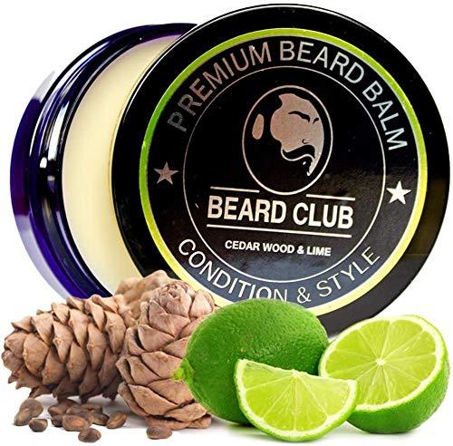 Baume a Barbe de Haute qualité | Bois de Cèdre et de Citron Vert | Le meilleur conditionneur et adoucissant pour votre barbe | Bio et 100% Naturel | Parfait pour assurer l'entretien et la croissance de votre barbe
