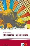 Rhinocéros - Une nouvelle - Klett Sprachen GmbH - 16/08/2010